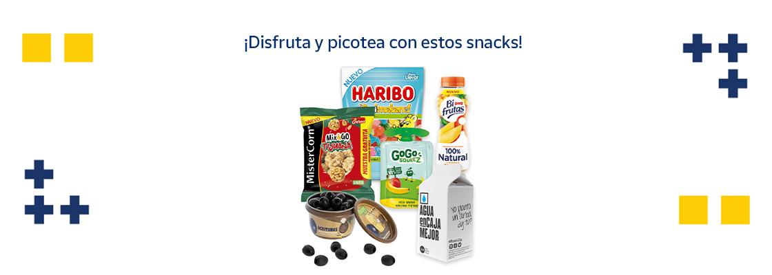Snacks para picotear